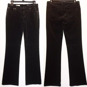 AG jeans sz 28R the Angel black corduroy boot cut